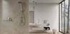 Aranżacja nowoczesnej łazienki w bieli i beżu
