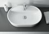 Umywalka nablatowa white 61,2x13,5x41,2 cm Elita Babette