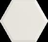 Paradyż Woodskin Bianco Heksagon Struktura A Ściana