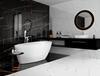 Łazienka w stylu glamour Azario Tanami