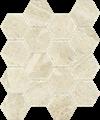 Paradyż Sunlight Stone Beige Mozaika Prasowana Hexagon