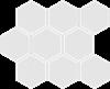 Cerrad Mozaika heksagon Cambia white lappato 33438