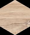 Paradyż Esagon Wood Beige Ściana