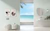 Przestronna łazienka w białym kolorze