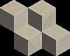 Paradyż Rockstone Antracite Mozaika Cięta Mix