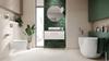 Łazienka inspirowana naturą - Tubądzin Tinta