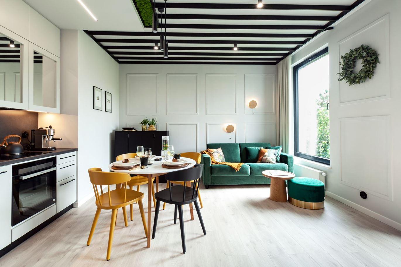 Projekt 44-metrowego mieszkania