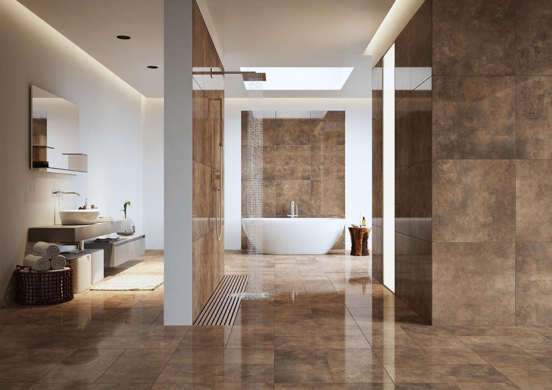 Stylowa łazienka w kolekcji Cerrad Apenino