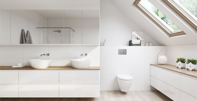 Szafki z lustrem – praktyczny wybór do łazienki