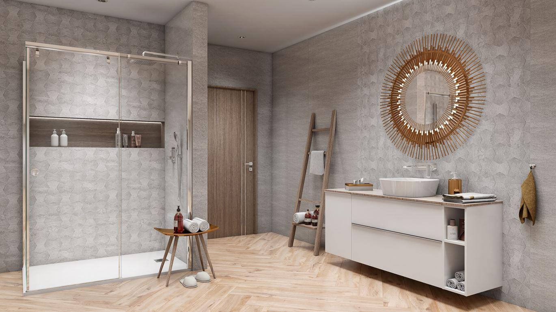 Projekt łazienki - Azario Modun