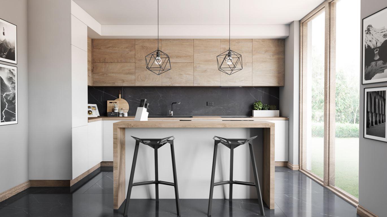 Drewno w kuchni- pomysły i inspiracje