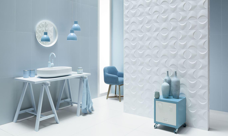 Niebieskie Płytki W łazience Domnipl