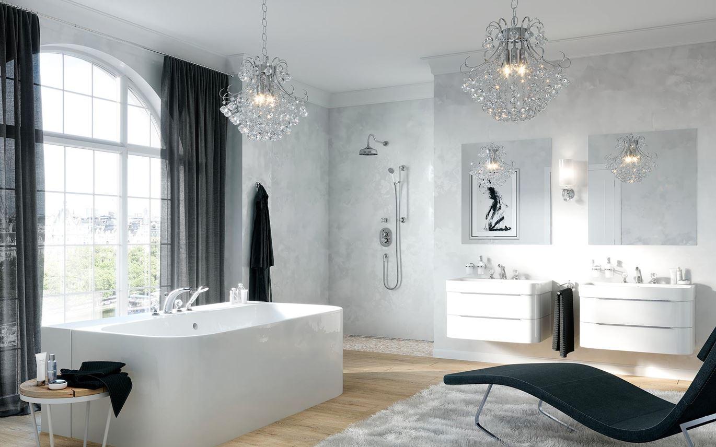łazienka W Stylu Glamour Domnipl
