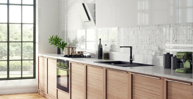 Co na ścianę nad blatem w kuchni?