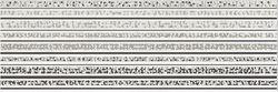 Opoczno Mirror Grey Inserto Lines OD437-001