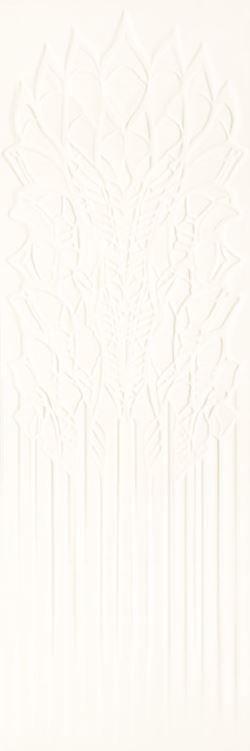 Paradyż Cold Crown White Ściana Struktura Rekt.
