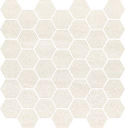 Cersanit Bantu cream heksagon small mosaic glossy WD598-003