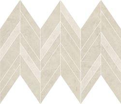 Cersanit Manzila beige chevron mix mosaic matt WD1016-013
