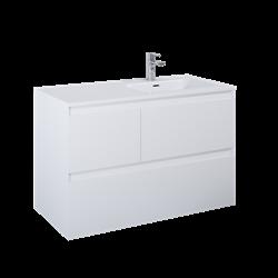 Elita Split 100 3S P White Matt 168160
