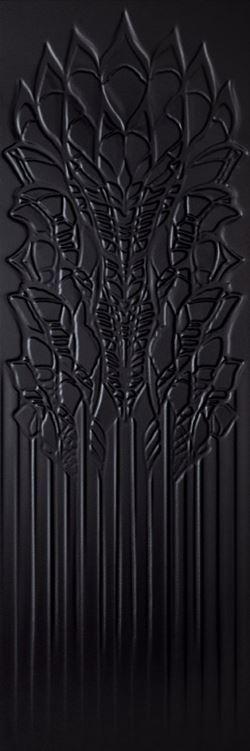 Paradyż Cold Crown Black Ściana Struktura Rekt.