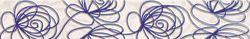 Tubądzin Wave Modern violet