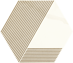 Paradyż Calacatta Hexagon Mat. A