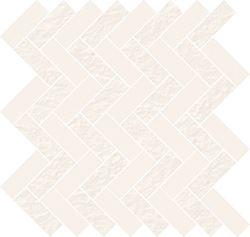 Cersanit White micro mosaic parquet mix OD569-005