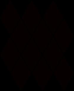 Paradyż Uniwersalna Mozaika Prasowana Nero Paradyż Romb Pillow