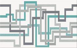 Cersanit Tunia white inserto maze WD443-001