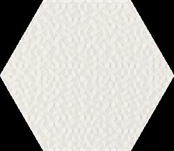 Paradyż Noisy Whisper White Struktura Ściana