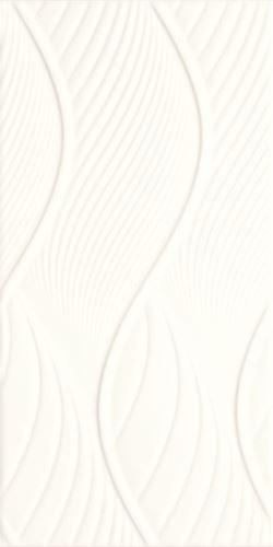 Paradyż Fiori Bianco Ściana Struktura
