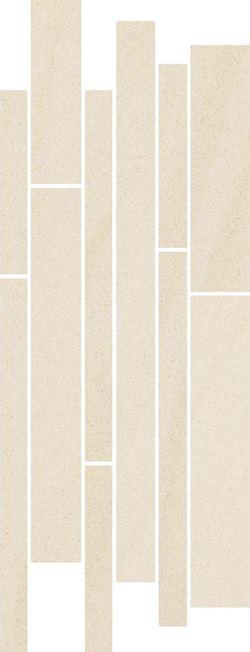 Paradyż Arkesia Bianco Listwa Paski Mix