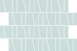 Cersanit Zambezi green trapeze mosaic matt WD942-014