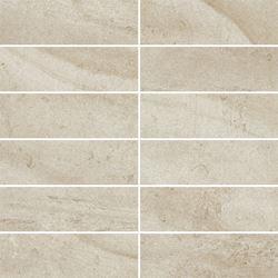 Paradyż Teakstone Bianco Mozaika Cięta K.4,8X14,8 Mat.