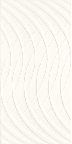 Paradyż Porcelano Bianco Ściana Struktura