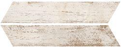 Azario Chevron White Mat