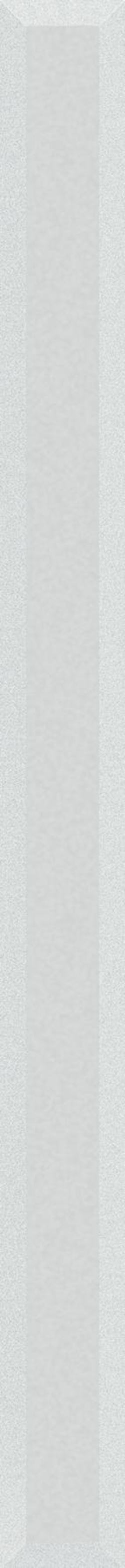 Paradyż Uniwersalna Listwa Szklana Ivory Fazowana