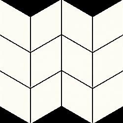 Paradyż Uniwersalna Mozaika Prasowana Bianco Paradyż Romb Braid