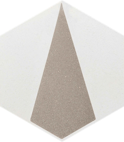 Paradyż Esagon Concrete Silver Inserto A