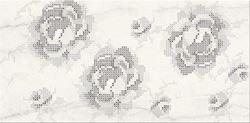 Cersanit Textile flower white inserto flower WD430-001