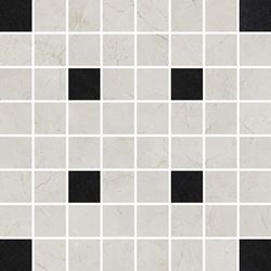 Opoczno Light Marble Grey Mosaic Square OD636-020