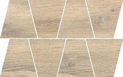 Opoczno Natural Warm Grey Mosaic Trapeze OD498-088