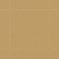 Paradyż Modernizm Ochra Mozaika Cięta K.4,8X4,8