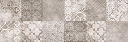 Vijo Twin Taupe Patchwork
