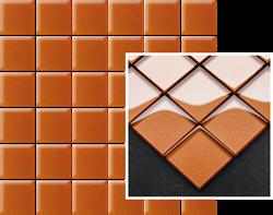 Paradyż Uniwersalna Mozaika Szklana Arancione K.4,8X4,8