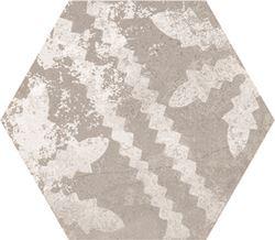 Azario Ingma Grey Decor Hexagono