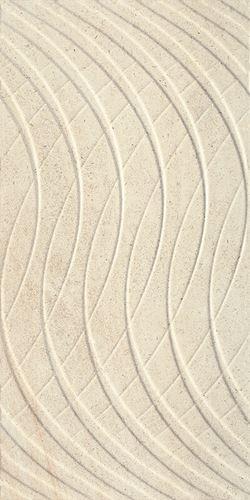 Paradyż Sunlight Sand Dark Crema Ściana B Struktura