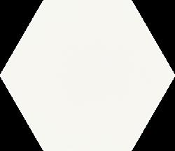 Paradyż Shiny Lines Bianco Heksagon Gres Szkl. Mat.