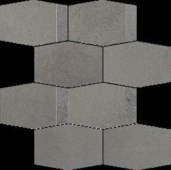 Paradyż Naturstone Grafit Mozaika Cięta Hexagon Mix