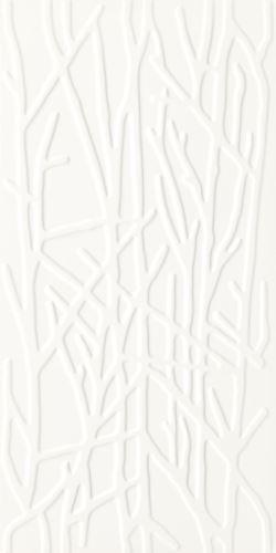 Paradyż Adilio Bianco Ściana Struktura Rekt. Tree